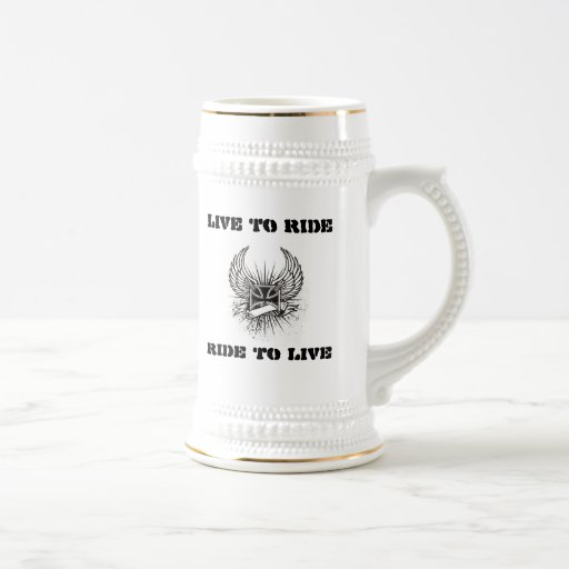 Burbank Mug Live To Ride