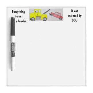 Burden Dry Erase Board