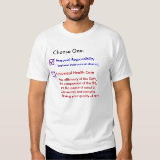 Bureaucrat Health Care T Shirts