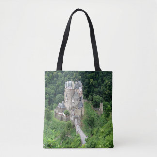 Burg Eltz. Castle near Mosel River valley, Germany Tote Bag