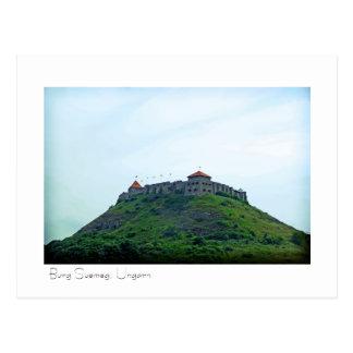 Burg Suemeg, Ungarn Postkarte Postcard