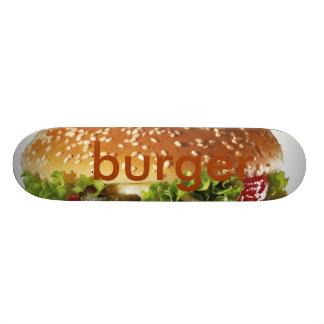 burger 21.6 cm skateboard deck