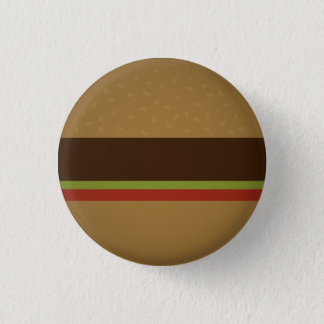 Burger 3 Cm Round Badge