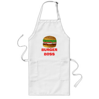 Burger Boss Long Apron