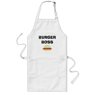 """Burger Boss"" Barbeque Apron"