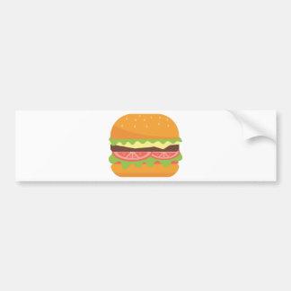 Burger Bumper Sticker