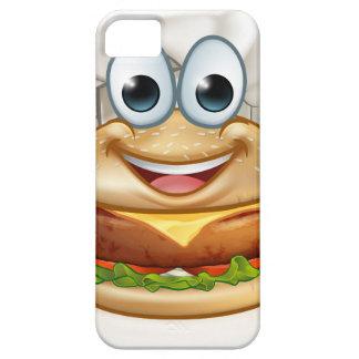 Burger Chef Food Cartoon Character Mascot iPhone 5 Case