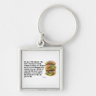 Burger Collection Key Chains