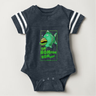 Burger Fish Baby Bodysuit