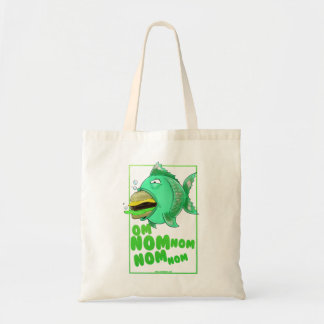 Burger Fish Tote Bag