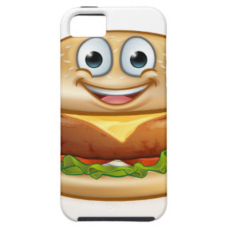 Burger Food Mascot Cartoon Character Case For The iPhone 5