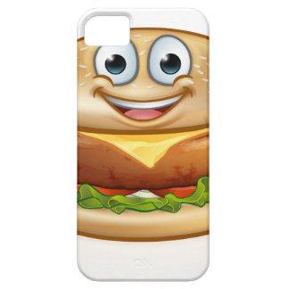 Burger Food Mascot Cartoon Character iPhone 5 Cover