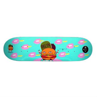Burger joint 18.1 cm old school skateboard deck