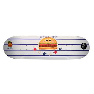 burger joint skate board deck