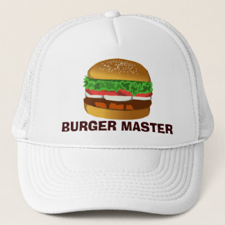 Burger Master Trucker Hat