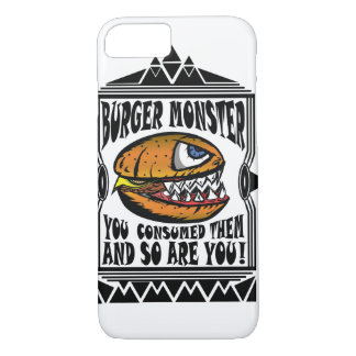 Burger Monster iPhone 7 Case