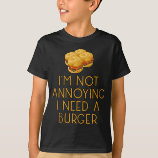 Burger nearly Food BBQ Barbecue Cheeseburger T-Shirt