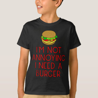 Burger nearly Food BBQ Barbecue hungry hunger T-Shirt
