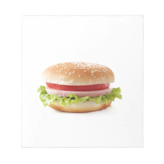 burger notepad
