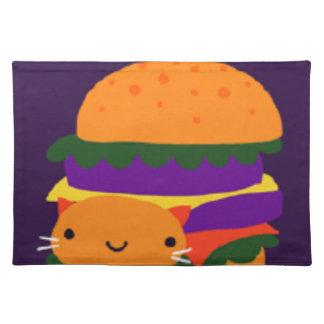 burger placemat