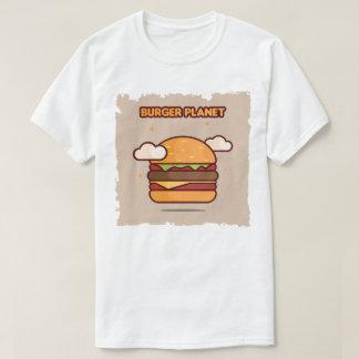 Burger planet t shirt