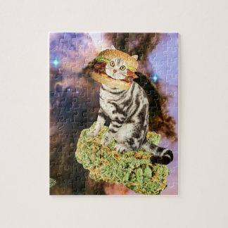 burger weed kat jigsaw puzzle