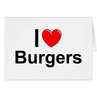 Burgers Card