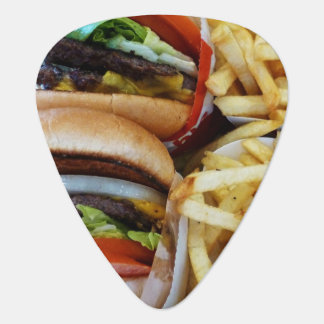 Burgers 'n Fries Guitar Pick