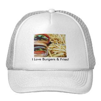 Burgers n Fries Mesh Hats