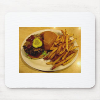 Burgers Rule! Mouse Pad