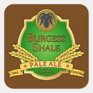 Burgess Shale Pale Ale Sticker
