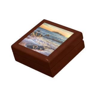 Burgh Island from Bantham at Sundown... Gift Box