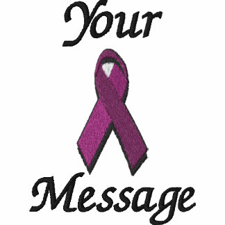 burgundy awareness ribbon - Customize