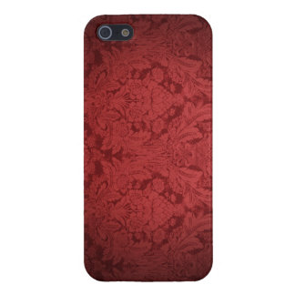 Burgundy Damask IPhone Cover