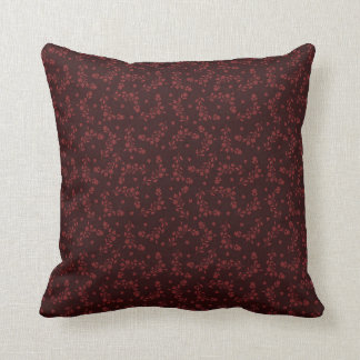 Burgundy Floral Throw Pillows : Burgundy Cushions - Burgundy Scatter Cushions Zazzle.com.au