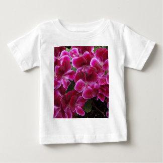 Burgundy Geranium Baby T-Shirt