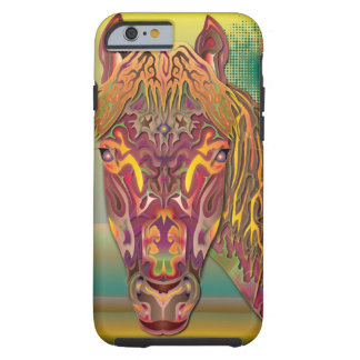 Burgundy Horse Tough iPhone 6 Case