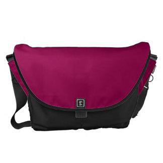 Burgundy Messenger Bags