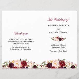 wedding programmes zazzle com au