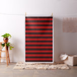 Burgundy Red Stripes Fabric