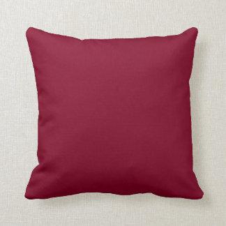 Burgundy Red Throw Cushions