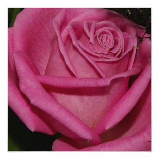 Burgundy Rose Custom Announcement