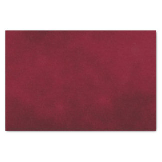 Burgundy Smudge Color Tissue Paper
