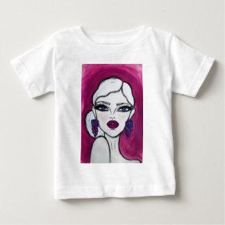 Burgundy - Wendy Buiter - Baby T-Shirt