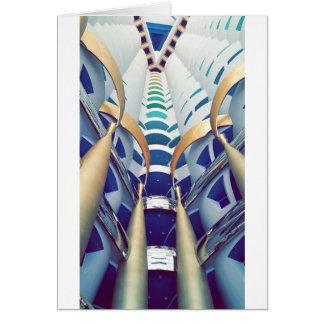 Burj Al Arab Inside Card