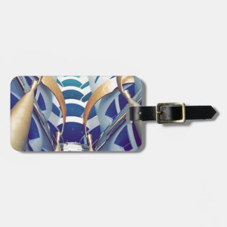 Burj Al Arab Inside Luggage Tag