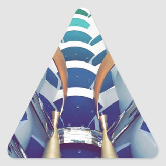 Burj Al Arab Inside Triangle Sticker