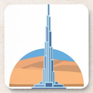 Burj Khalifa Dubai Beverage Coasters