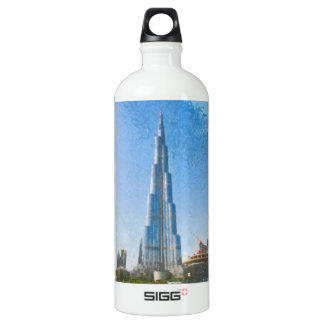 Burj Khalifa, Dubai painting SIGG Traveller 1.0L Water Bottle