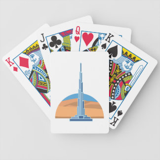 Burj Khalifa Dubai Poker Deck